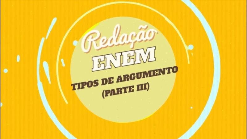 Redação no Enem Argumento por comprovação - Brasil Escola