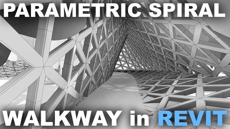 Parametric Walkway in Revit Tutorial