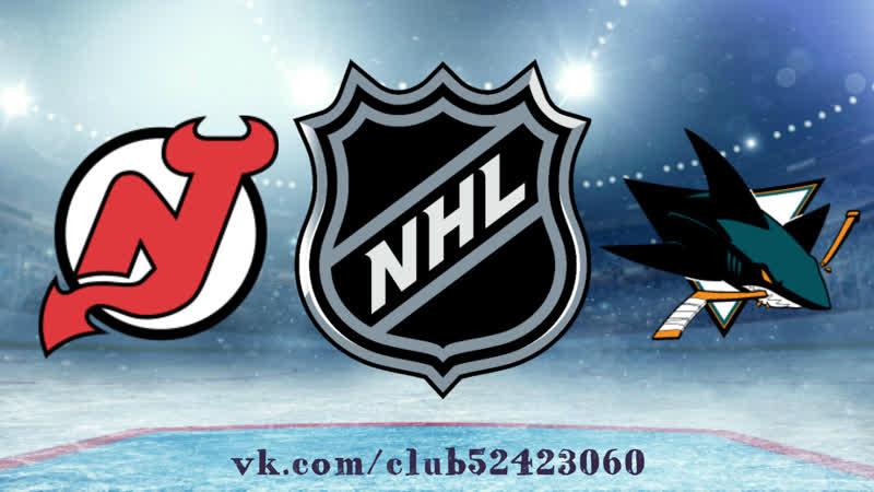 New Jersey Devils vs San Jose Sharks 10 12 2018 NHL Regular Season 2018 2019
