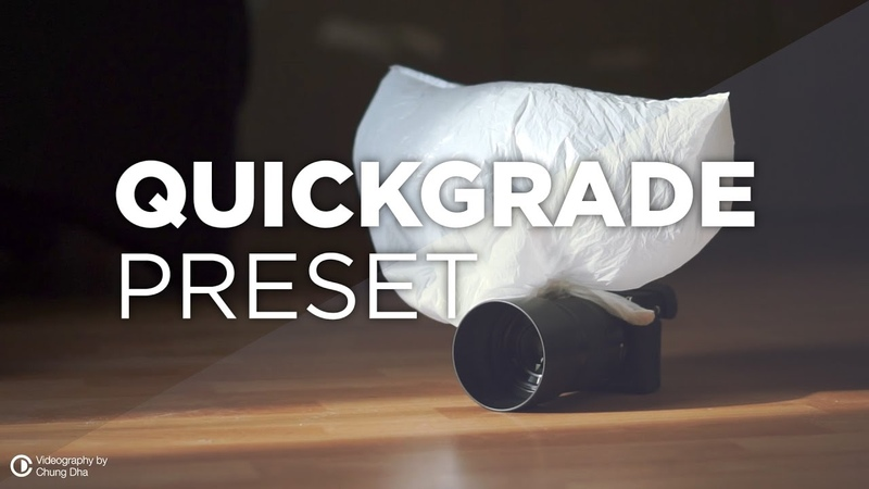 QuickGrade Preset Grading Tutorial 🎬 for Premiere Pro by Chung Dha