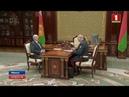 Александр Лукашенко принял с докладом министра внутренних дел Беларуси Игоря Шуневича