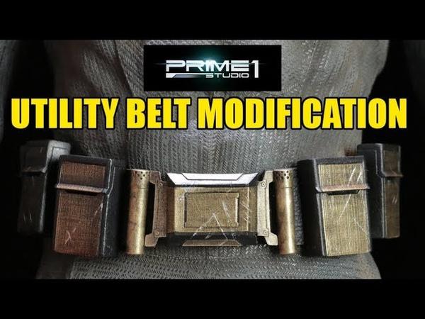 Prime1Ben Affleck Batman Belt Modification- Chris Custom Collectables!