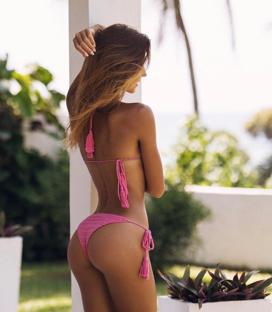 Nude yoga video on beach