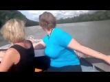 ПРИКОЛ! КАМАЗ плывёт по реке!  Грузовик бороздит речные просторы