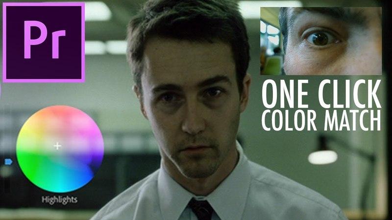 Whats New in Adobe Premiere Pro 12.1: Auto Color Match Shot Comparison View (CC Update)