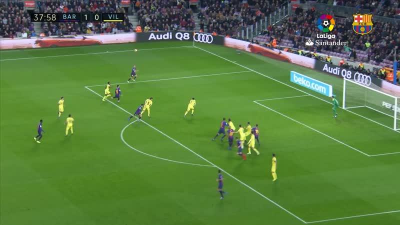 HIGHLIGHTS. FC Barcelona v Villarreal 2-0