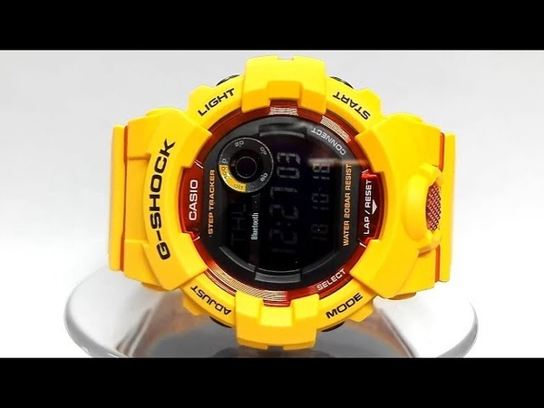 Casio G-Shock GBD-800-4ER Bluetooth watch video 2018