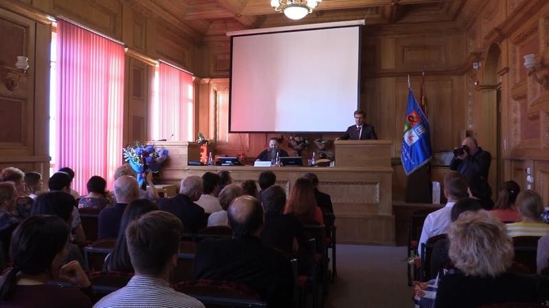 Встреча митрополита Георгия со студентами медицинского университета