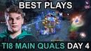 TI8 BEST PLAYS Main Quals CIS\SA\China DAY 4 Highlights Dota 2 by Time 2 Dota dota2