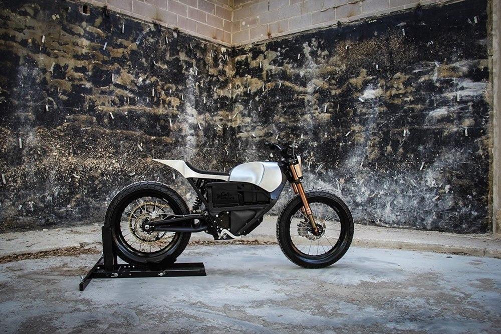 Colt Wrangler Motorcycles: стрит-трекер Zero XU 2013