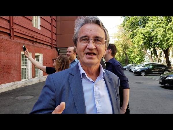 Подробности задержания Удальцова: Родин Владимир