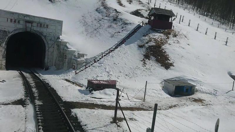Кузнецовский перевал и тоннель. Горный хребет Сихотэ-Алинь . 2017 год 25 марта