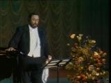 Лучано Паваротти в Москве - Luciano Pavarotti in Moscow - 1989 год.