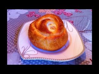 Ватрушки Розочки/Ватрушки с Творогом/Cheesecake With Cottage Cheese(Vatrushka)/Пошаговый Рецепт