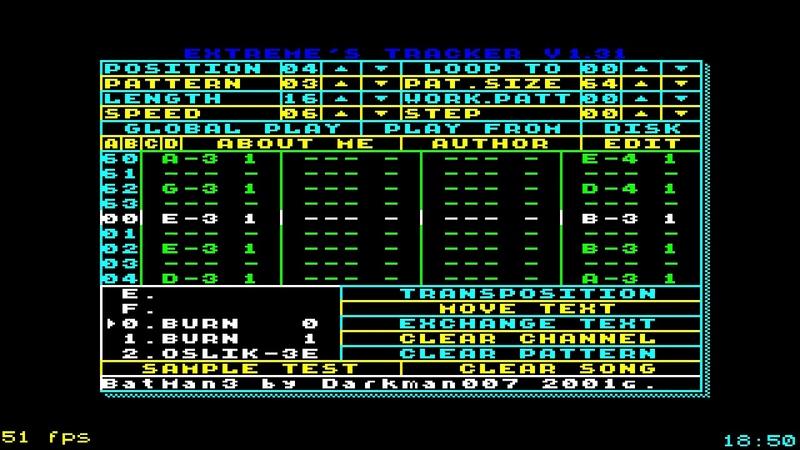 Darkman007 - Batman3 old track (2001) VS Nickelback - Float on the for (2004) | ZX Spectrum |