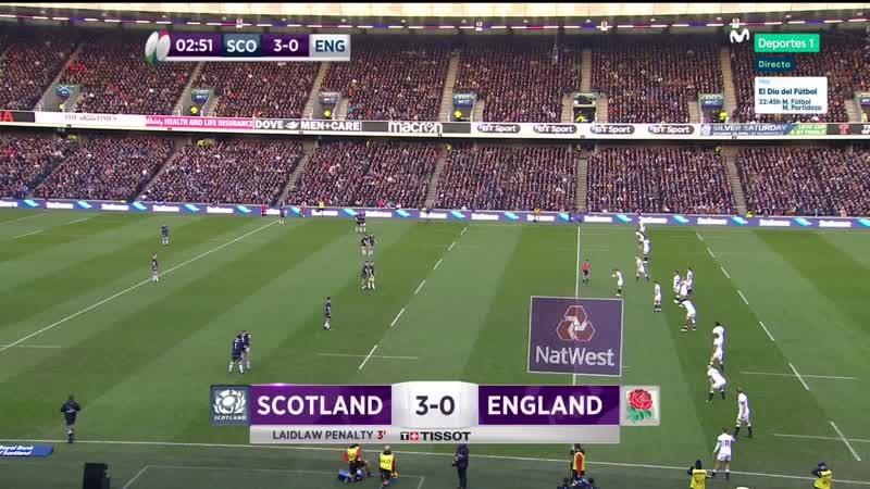 Rugby 6 Naciones 2018 J3 - Escocia - Inglaterra