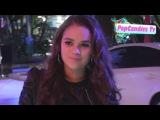 Madison Pettis greets fans at KIIS FM's Jingle Ball Staples LA