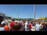 болельщики идут на матч Коста-Рика -Сербия