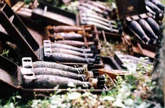 Под Таганрогом найден склад боеприпасов времен ВОВ