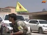 пешмарга бегут из Шангала, а в бой вступают бойцы YPG