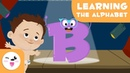 Learn the letter B with Baby Bartie - The alphabet - Phonics For Kids