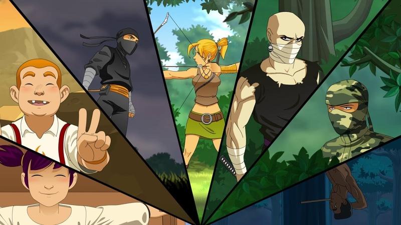Reign Of The Ninja - Геймплей   Трейлер