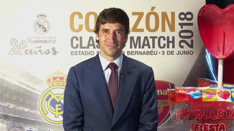 Рауль приглашает на Corazón Classic Match 2018
