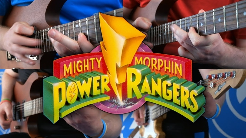 Mighty Morphin Power Rangers Theme on Guitar