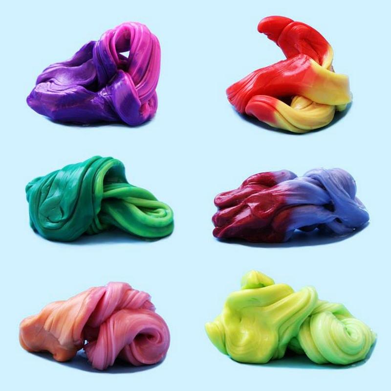 Пластилин меняющий цвет