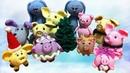 Вязаные игрушки к Новому году 2019 / Подарки, елочки, свинки и др. | Knitted toys