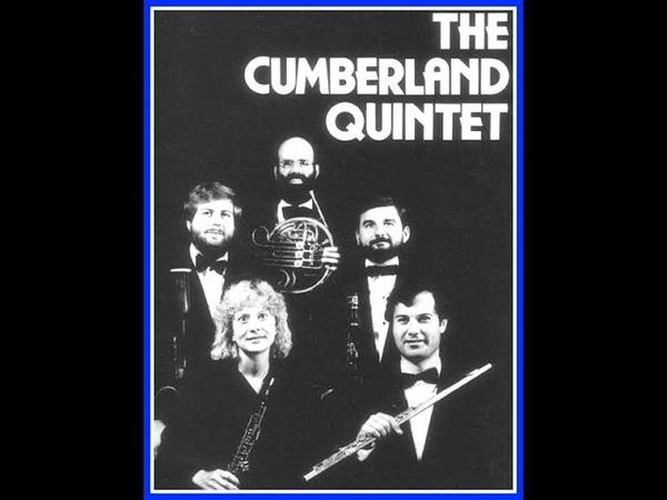 Emile Bernard's Divertissement for Double Wind Quintet -- Dorian Cumberland Quintets ('85)