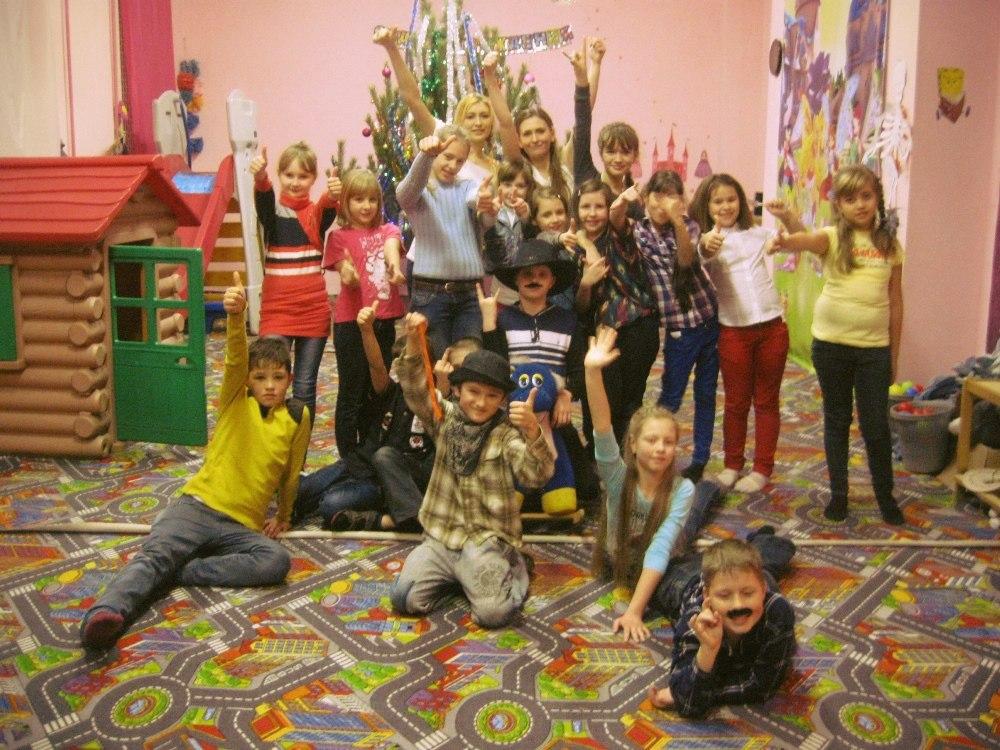 День рождения для ребенка Запорожье в семейном центре Апельсин