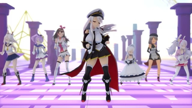 【Azur Lane MMD】Crab Rave 【10k Subs Thanks!】 · coub, коуб