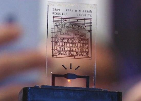 Самоуничтожающийся чип от DARPA позволит сохранить секретную информацию