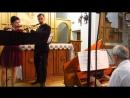 MVI 1924 Иоганн Себастьян Бах Трио соната соль мажор для двух флейт траверсо и бассо континуо Largo Allegro Andante Presto