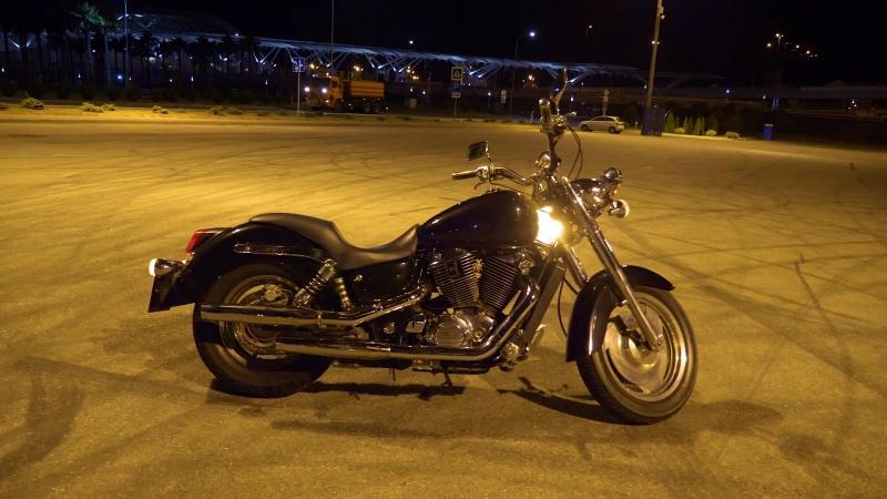180618 023000 Honda VT1100C2 Shadow Sabre 2000гв ночь