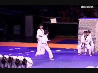 Taekwondo Target Test