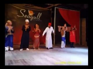 Интернациональное танцевальное шоу от отеля Sea Gull