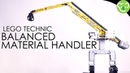 Balanced Material Handler (Inspired from Sennebogen 8130EQ) - MOC Lego Technic with double SBrick