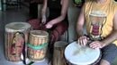 Having Fun: Kuku Djembe Solo/Jam On Tim's New Guinea Drum w/Cashmere Goat Skin
