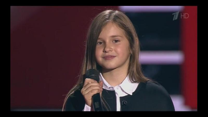 Голос Дети 3 - Мария Панюкова (Отборочный тур)