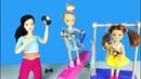 КТО ЛУЧШАЯ ГИМНАСТКА Мультик Барби Школа Гимнастика для девочек Играем в Куклы