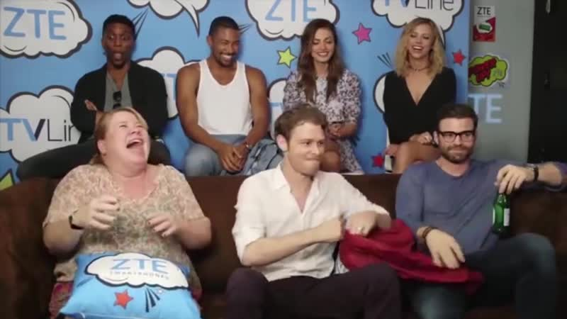 The Originals Cast ¦ FUNNY MOMENTS ¦ Comic Con