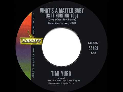1962 HITS ARCHIVE What's A Matter Baby Is It Hurting You Timi Yuro