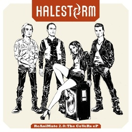 Halestorm альбом ReAniMate 2.0: The CoVeRs eP