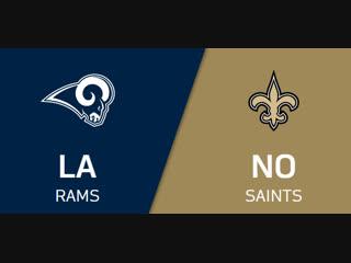 NFL 2018-2019 / Week 09 / Los Angeles Rams - New Orleans Saints / EN