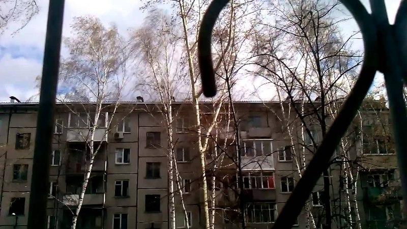 Ураган в Новосибирске 27.04.2015 (часть 5)