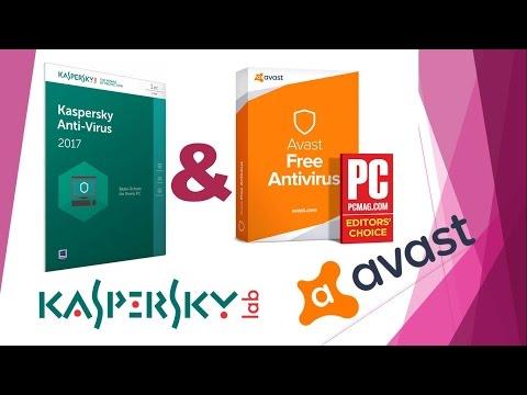 Тест Avast Free Antivirus 2017 Антивирус Kaspersky Free 2017 (полная версия)