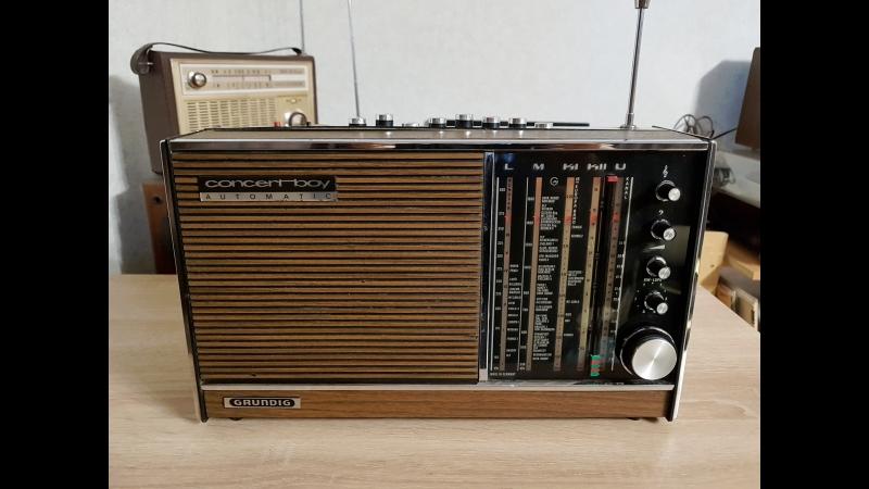 GRUNDIG CONCERT BOY Automatic N209. FM.