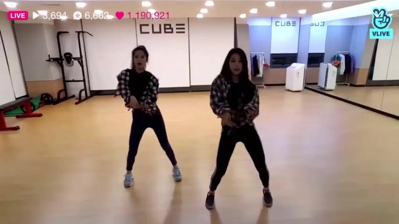 Clc (seungyeon ; yujin) dance cover by momoland - bboom bboom